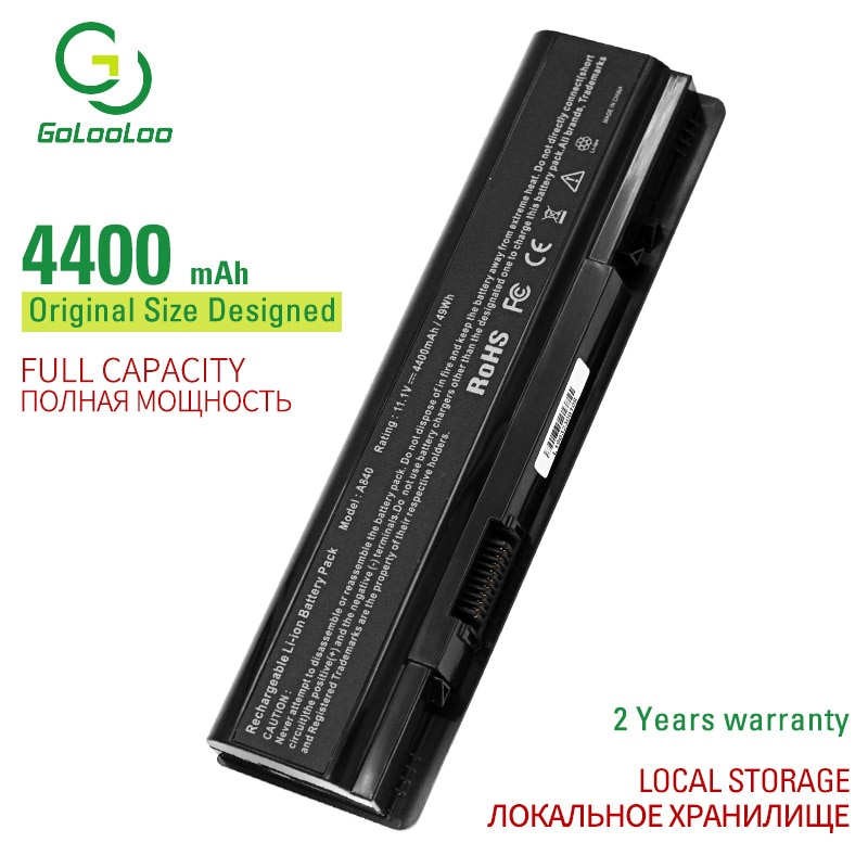 6Cells New Laptop Battery For Dell Vostro 1014 1015 1088 A840 A860 Inspiron 1410 F286H F287F F287H G066H G069H PP37L PP38L