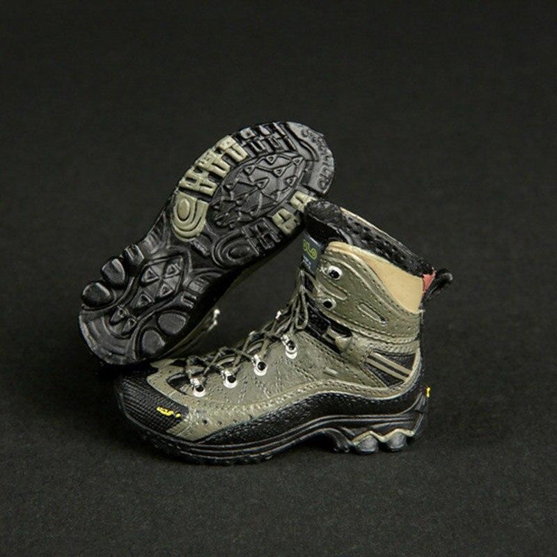 """1/6 escala feminina figura sapatos fg022 soldado mele botas menina botas de combate modelo 12 """"figura ação acessórios brinquedos"""