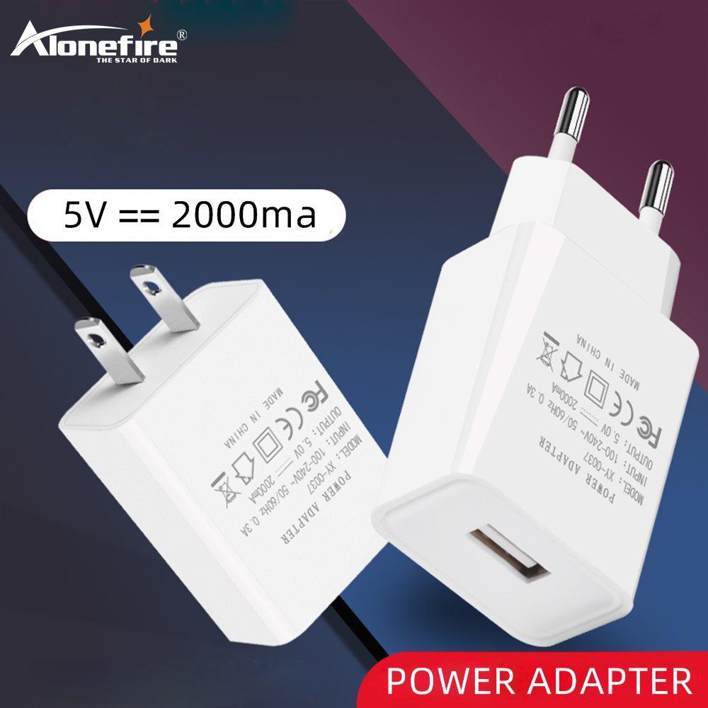 Alonefire MX-0037 AC DC Универсальный 5V 2A USB адаптер питания вольт зарядное устройство USB