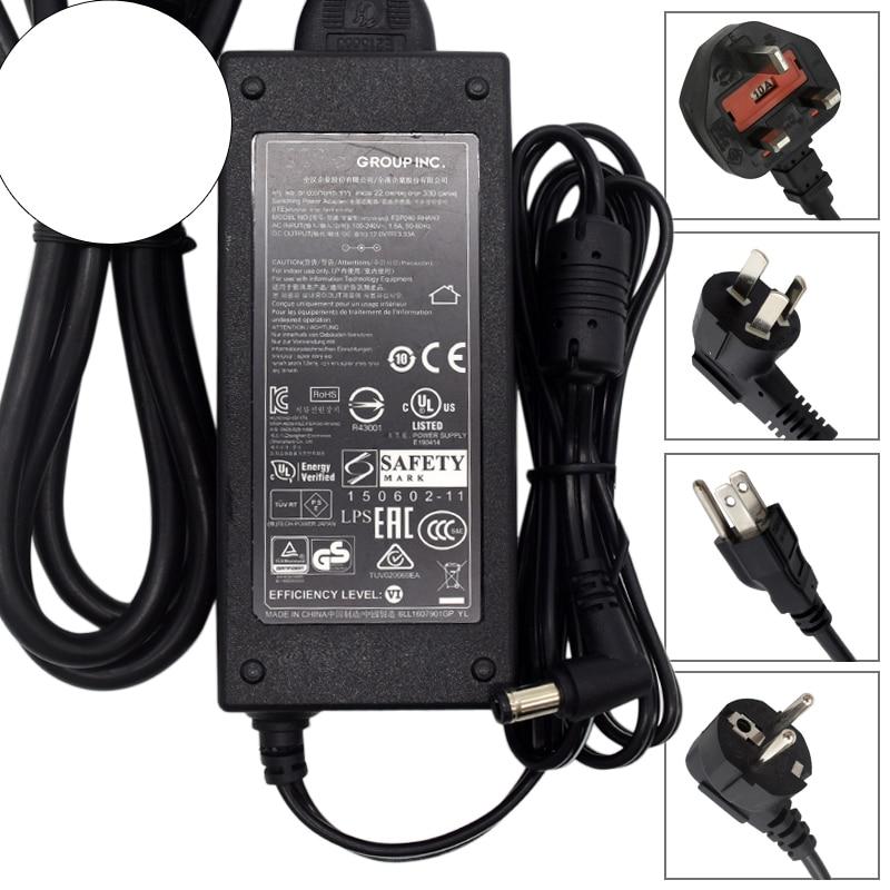 Para FSP Group Inc FSP040-RHAN2 AC adaptador cargador fuente de alimentación 12V 3.33A-usado