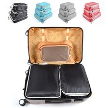 3Pcs Portable Clothes Storage Bag Organizer Bags Waterproof Cloth Storage Closet Organizer Set For Travel