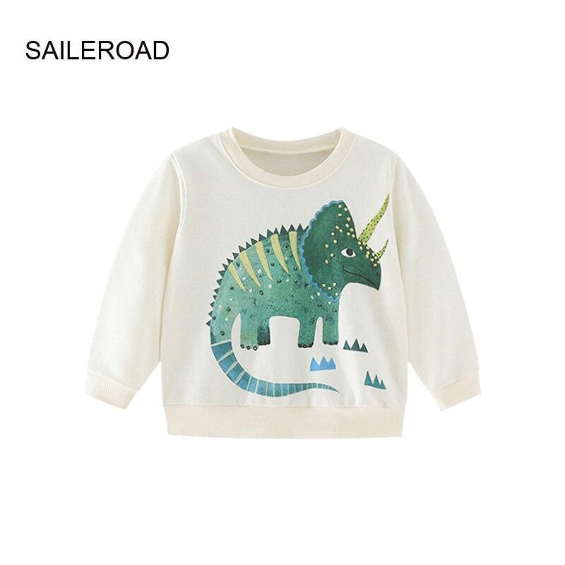 saileroad camisa esportiva infantil com capuz saileroad moda rinoceros criancas bebe