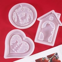 jewelry diy crafts home decoration epoxy resin mold christmas gift snowflake resin molds silicone pendant
