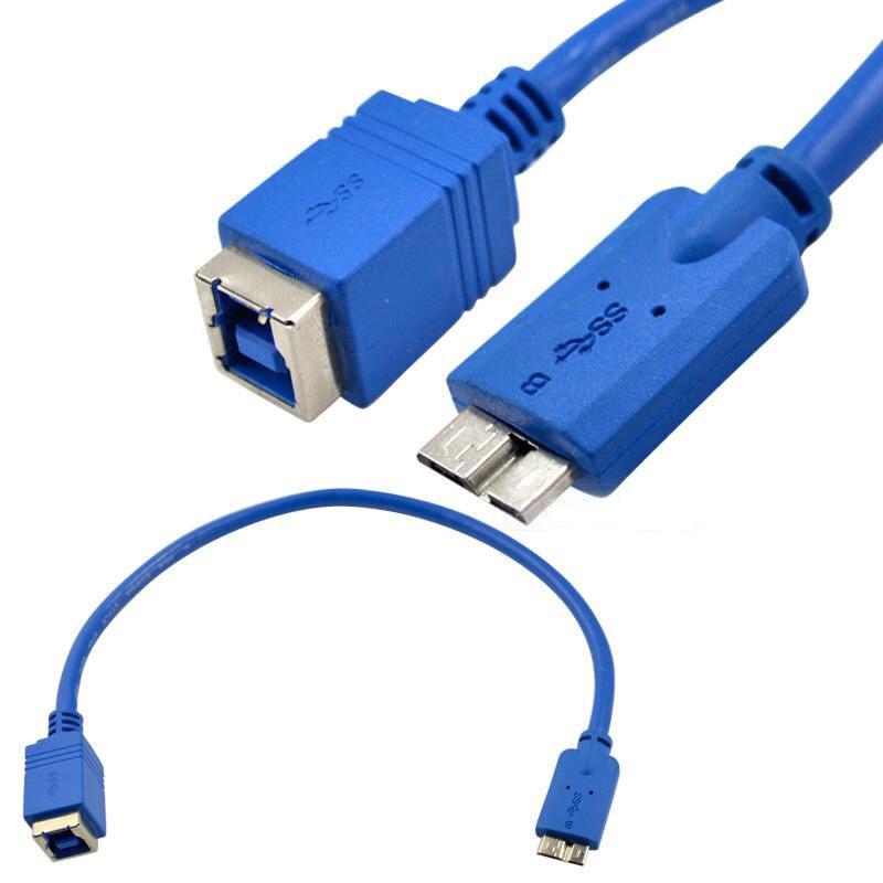 USB 3,0 cable USB 3,0 MICRO macho codo a B hembra cable...