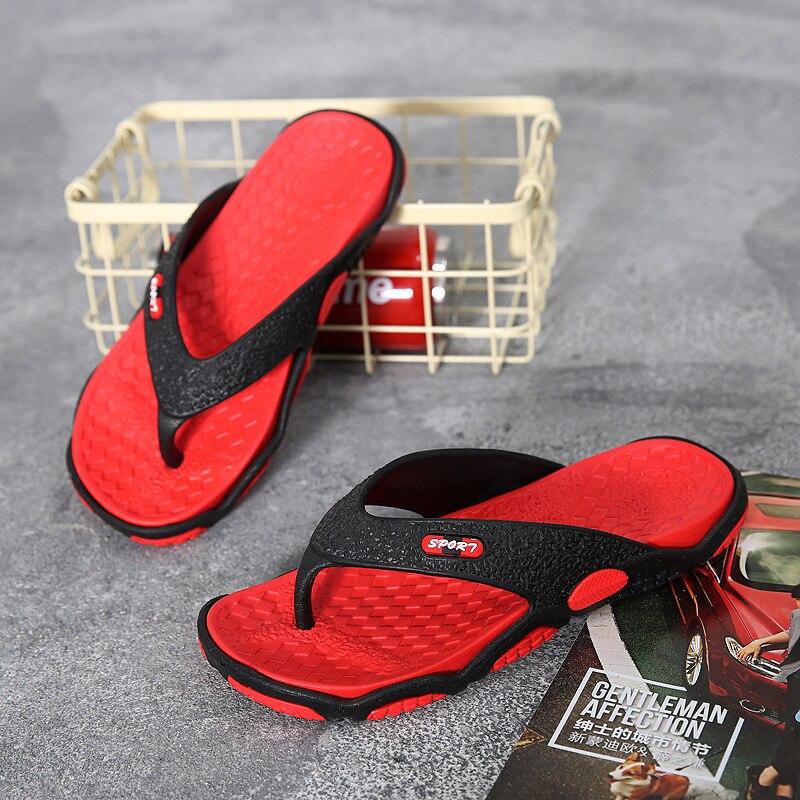 Summer Men Flip Flops Bathroom Slippers Fashion Beach Sandal Breathable Outdoor Man Sandals