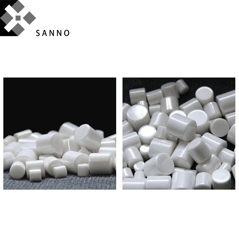 Frete grátis 1 kg óxido de zircônio grânulo zro2 moagem mídia colunar 5, 6, 7, 8, 10, 12.8, 15mm puro zro cerâmica bola grânulo