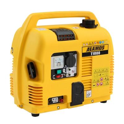 T1000 المحمولة المنزلية مولد بنزين المنزل صغيرة مولد صامت مرحلة واحدة مولد بنزين 1000W 220V 88CC 4.2L