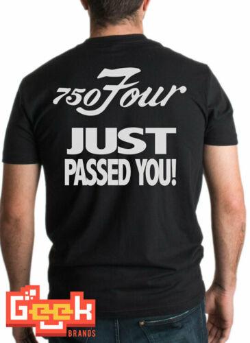 2019 en venta nueva moda verano 750 cuatro Just Passed You camiseta-750 Four Back imprimir camiseta Cb750 camiseta Bobber