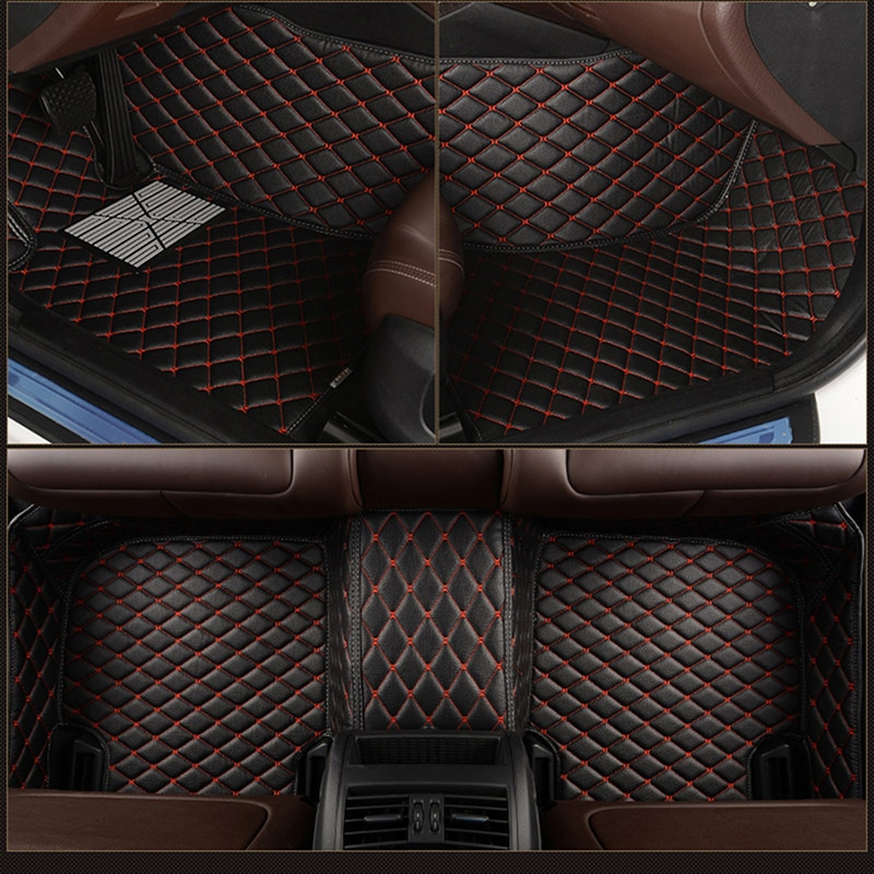 leather Custom car floor mat for ACURA MDX RDX ZDX RL TL CDX ILX TLX TSX RSX carpet car accessories enlarge