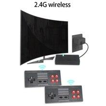 USB sans fil Console de jeu vidéo Mini rétro poche TV jeux vidéo contrôleur construit en 620 jeux classiques soutien AV sortie cadeaux