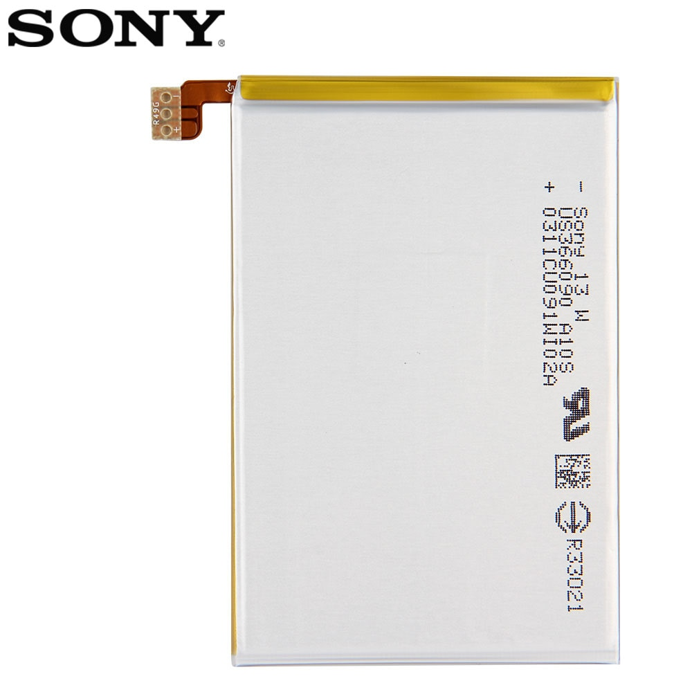 Original SONY Battery For Sony Xperia ZL L35h Odin C650X Xperia X ZQ LIS1501ERPC 2330mAh  Authentic Phone Replacement Battery enlarge
