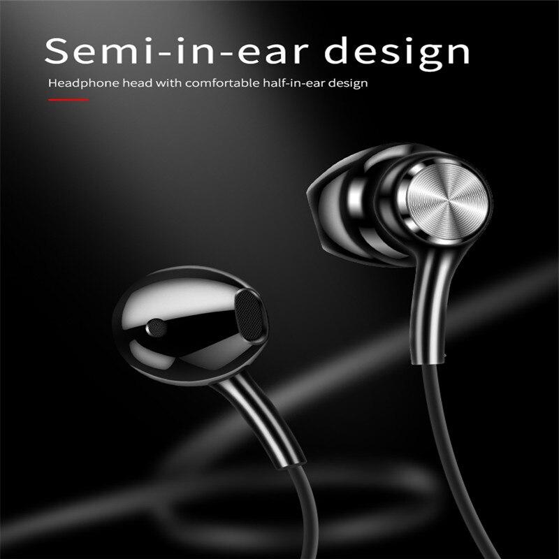 Bohm g03 bluetooth 4.2 fone de ouvido esporte correndo pendurado pescoço fone binaural redução ruído versão