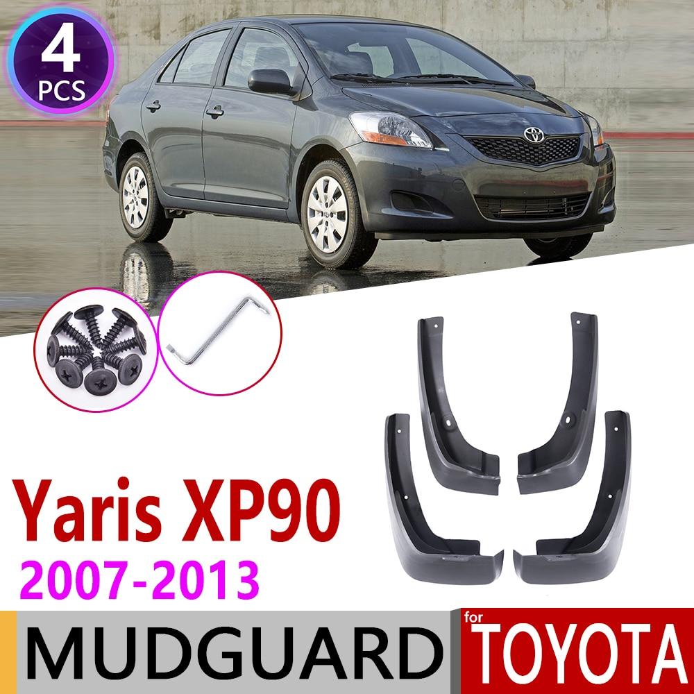 Брызговик для Toyota Vios Yaris Limo XP90 для салона Sedan 2007 ~ 2013 Брызговики аксессуары 2008 2009 2010
