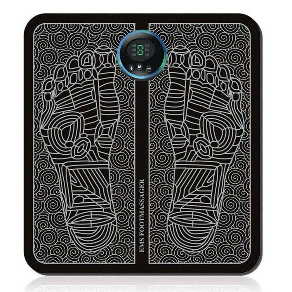 Массажный коврик Электрический EMS для ног, стимулятор мышц ног, шейпинг ног, снятие боли