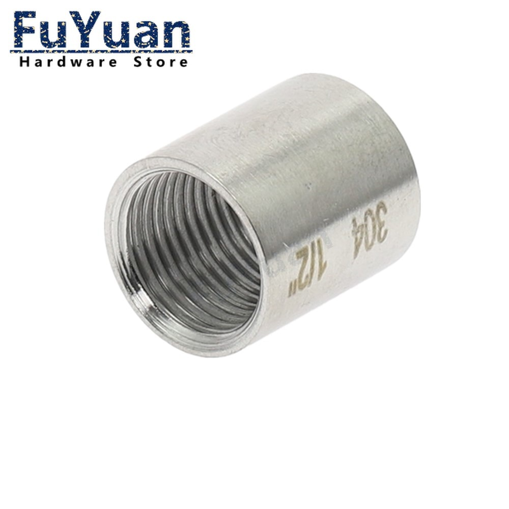 Фото - SS 304 Stainless Steel Water Pipe Fitting 1/8 1/4 3/8 1/2 3/4 1 1-1/4 1-1/2 2 Straight Female Threaded Pipe Fitting water connection adpater 1 8 1 4 3 8 1 2 3 4 1 1 1 4 1 1 2 female threaded pipe fittings stainless steel ss304