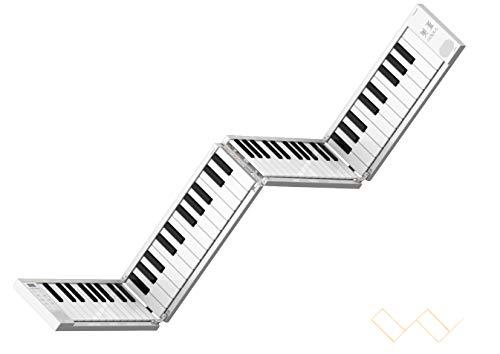 Piano Elétrico Dobrável Portátil 88-chave