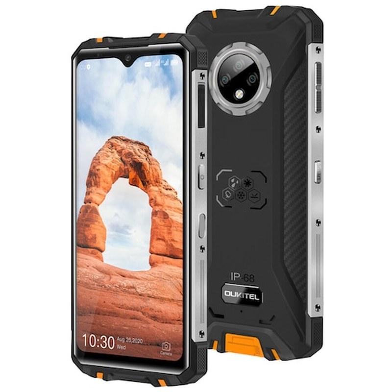 OUKITEL WP8 برو NFC IP68 وعرة الهاتف الذكي 4GB RAM 64GB ROM الرياضية 6.49 ''بصمة الروبوت 10 5000mAh 16MP الثلاثي كاميرا