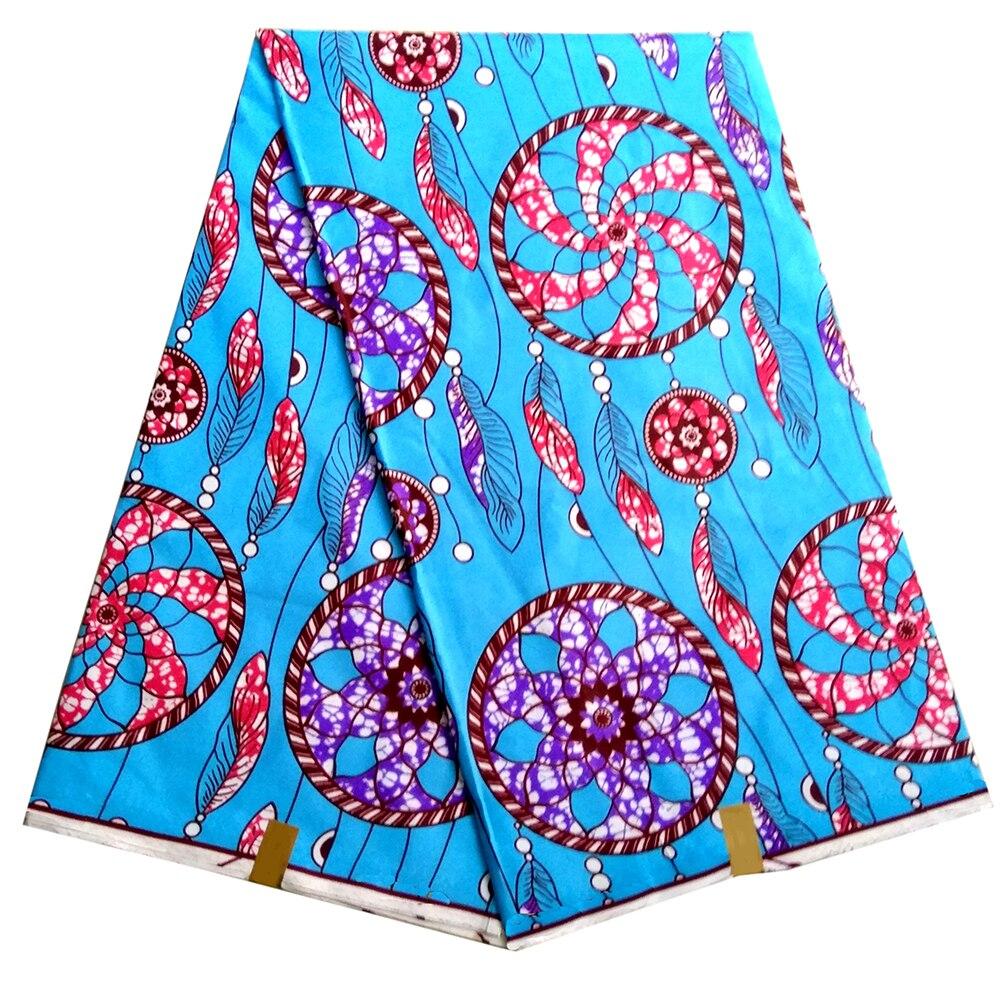 Анкара воск 2020 Высокое качество африканская вощеная ткань принтом цветная полиэфирная ткань с принтом