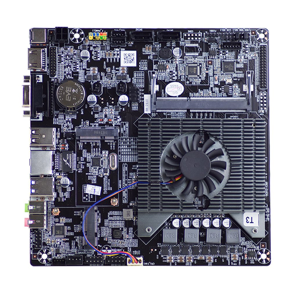 J1800 Embedded Dual-Core Dual-Threaded 2.58GHz DDR3 Thin ITX All-In-One Low-Power Industrial Computer Motherboard