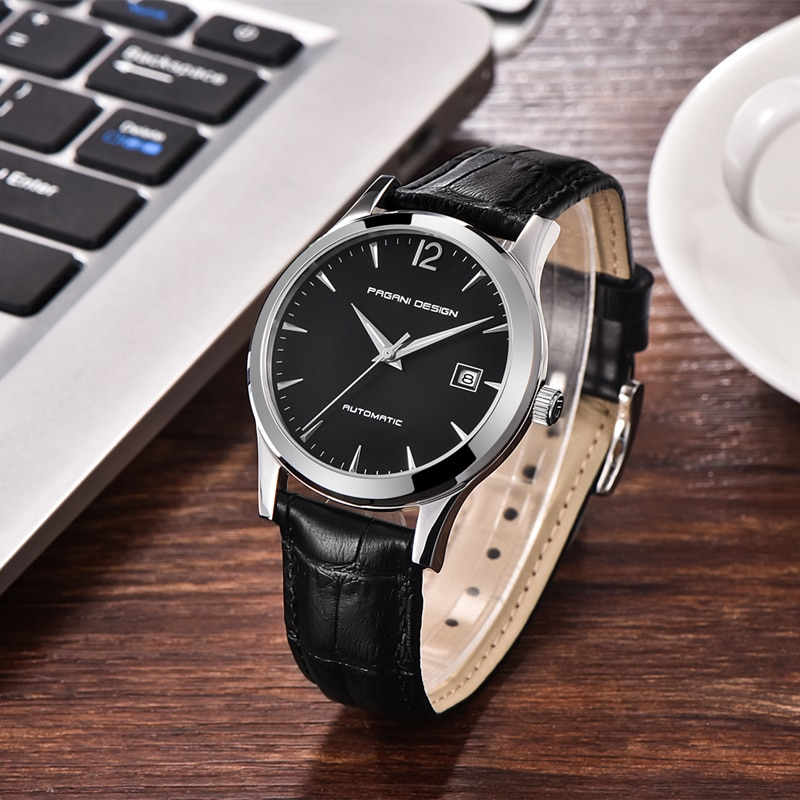 PAGANI DESIGN 2021 New Men's Classic Mechanical Watches Business Waterproof Clock Luxury Brand Genuine Leather Automatic Watch enlarge