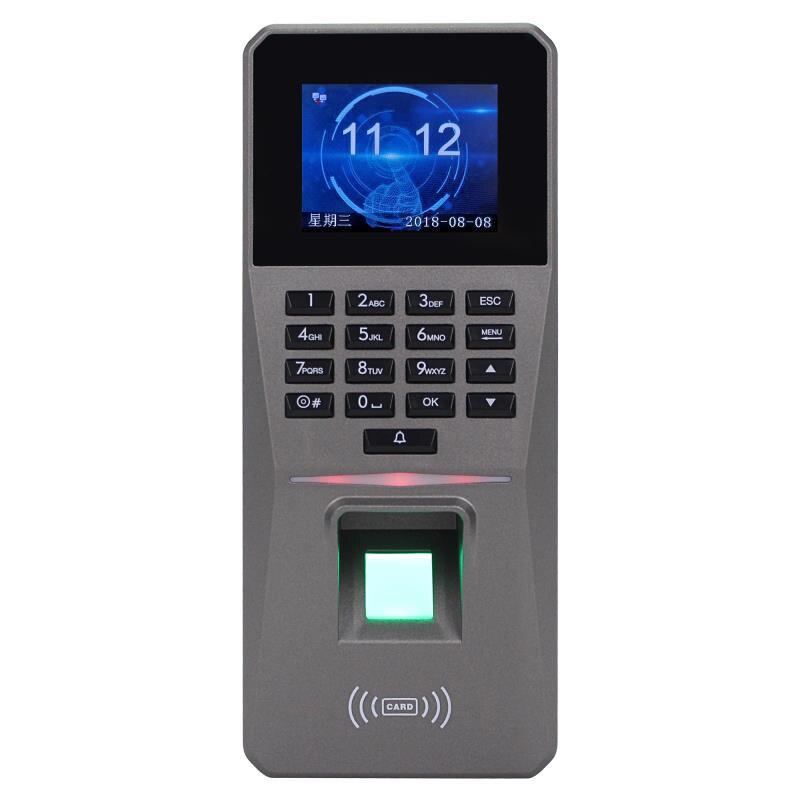 Kits de Control de acceso DC 12V 2,4 pulgadas TFT pantalla huella digital contraseña tarjeta puerta alarma acceso Control Rfid bloqueo