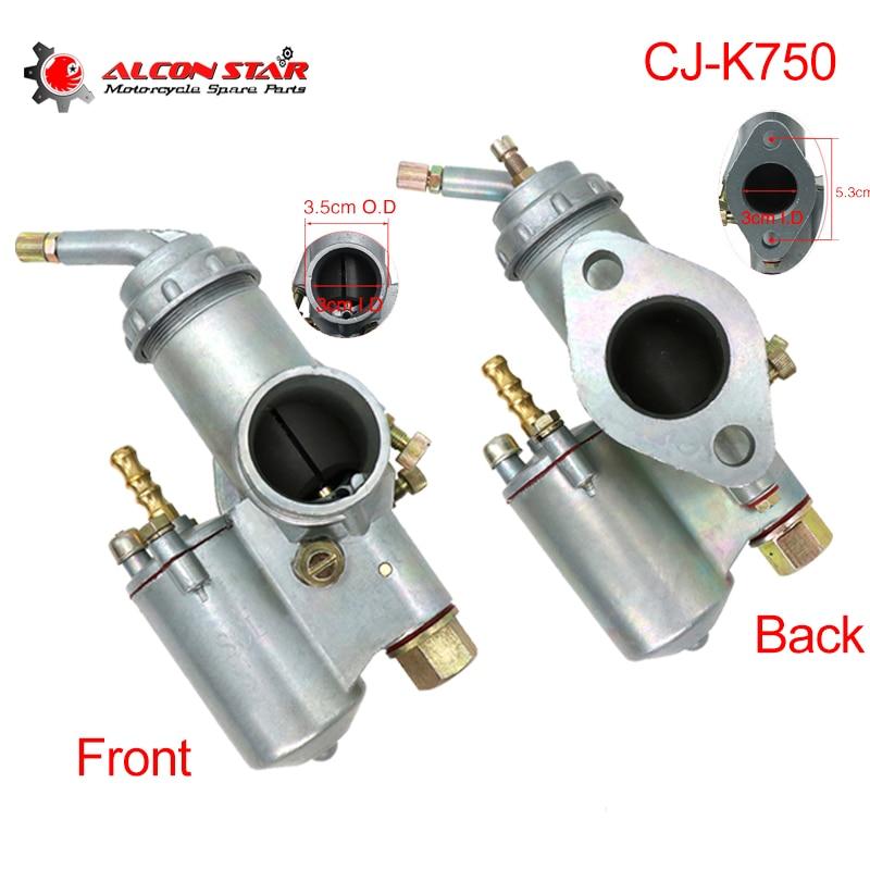 Alconstar-CJ-K 750 قطع الغيار للدرجة النارية المكربن كارب ل BMW R50 R60/2 R69S R12 K750 R1 R71 M72for الأورال M72 K37 K38 K301 K302