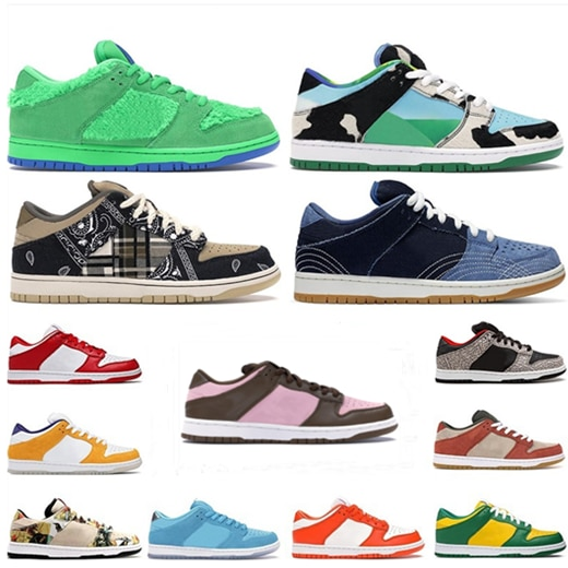 New chunky dunky sb dunks shadow ben jerry board shoes samba sashiko pale ivory low platform mens wo
