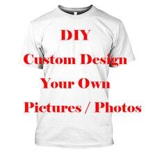 3D Print Diy Custom Design Men T Shirt Hip Hop Women Tshirt Unisex anime Clothing Tops Mens T-shirts Suppliers For Drop Shipper