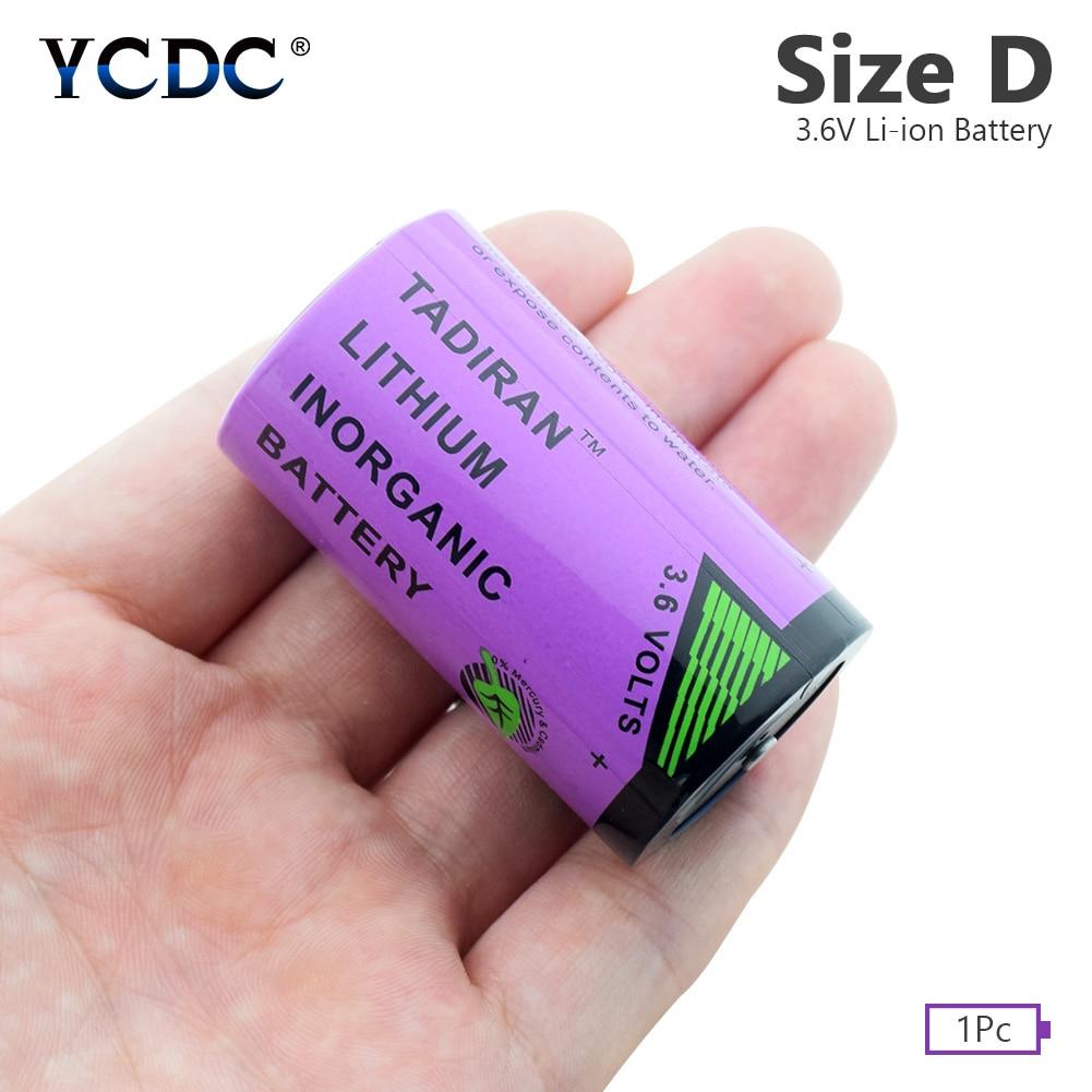 Batería YCDC de tamaño D, TL-5930, 3,6 V, 19000mAh, sistema CNC, PLC, baterías industriales de iones de litio D