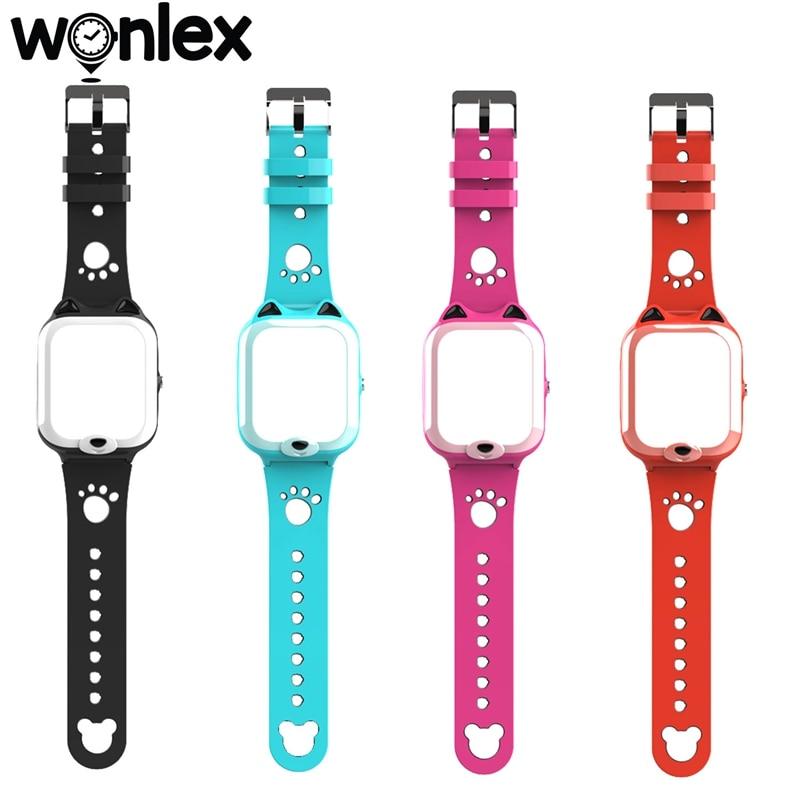 Detachable Strap Casing of Wonlex KT22 Kids GPS Smart-Watch Accessories 1/2 Sets: Watches Straps Band for Wonlex Watch