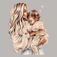 mom baby life applique patch diy heat transfer tops fashion appliqued vinyl applique clothes over powder stickers