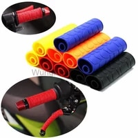 4pcs motorcycle handle bar rubber cover non slip soft comfort motorbike brake clutch lever covers anti skid protector sleeve