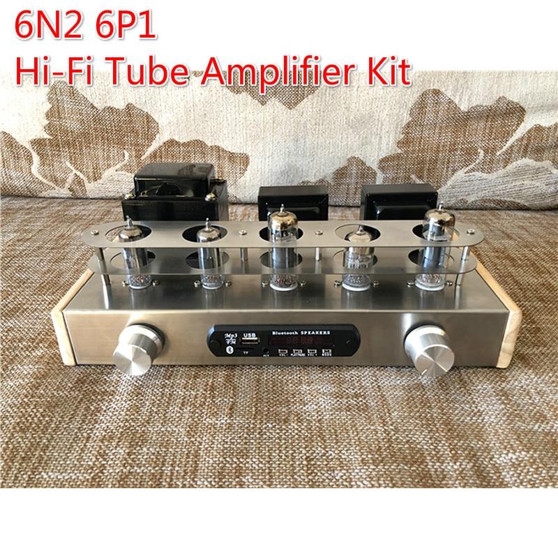 6N2 6P1 Hi Fi لتقوم بها بنفسك مُضخّم صوت عدة مرحبا فاي أنبوب المعدل مكبر للصوت عالية الدقة شفافة متوسطة التردد مضخم الصوت