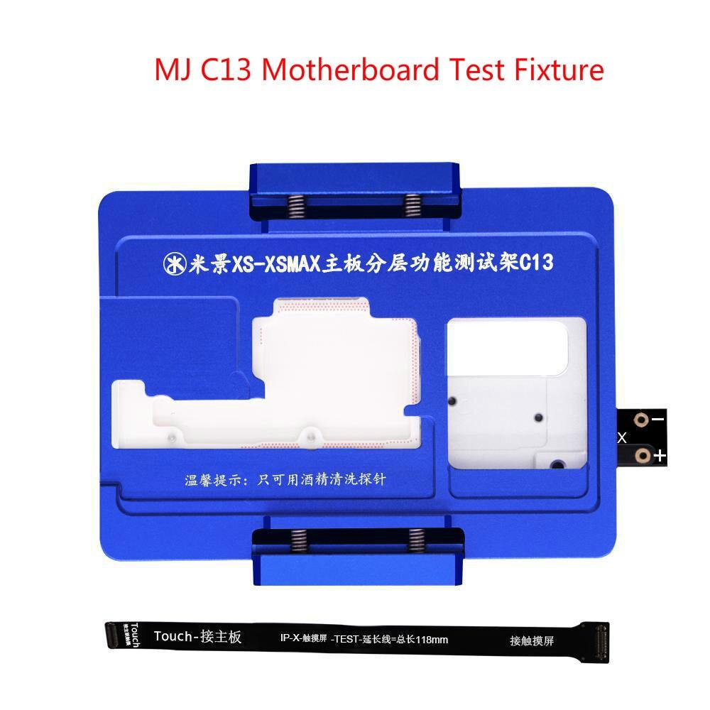 MJ C13 اللوحة اختبار تركيبات العلوي السفلي المنطق مجلس PCB اختبار أداة آيفون XS XS-Max طقم أدوات إصلاح