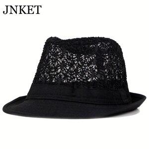 JNKET Men Women Breathable Sun Hat Fedoras Hat Gangster Cap Beach Hats Panama Hat Outdoor Sports Sunhat Summer Hat Top Hats