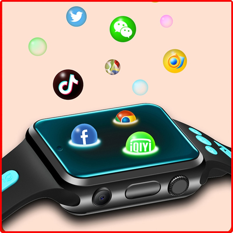 Promo GPS Anti Lost Watch Student Children Smartwatch Android System APP 2MP Lens Smart 4G Kids Watch TF Card Video Call PK Thor 5 Pro