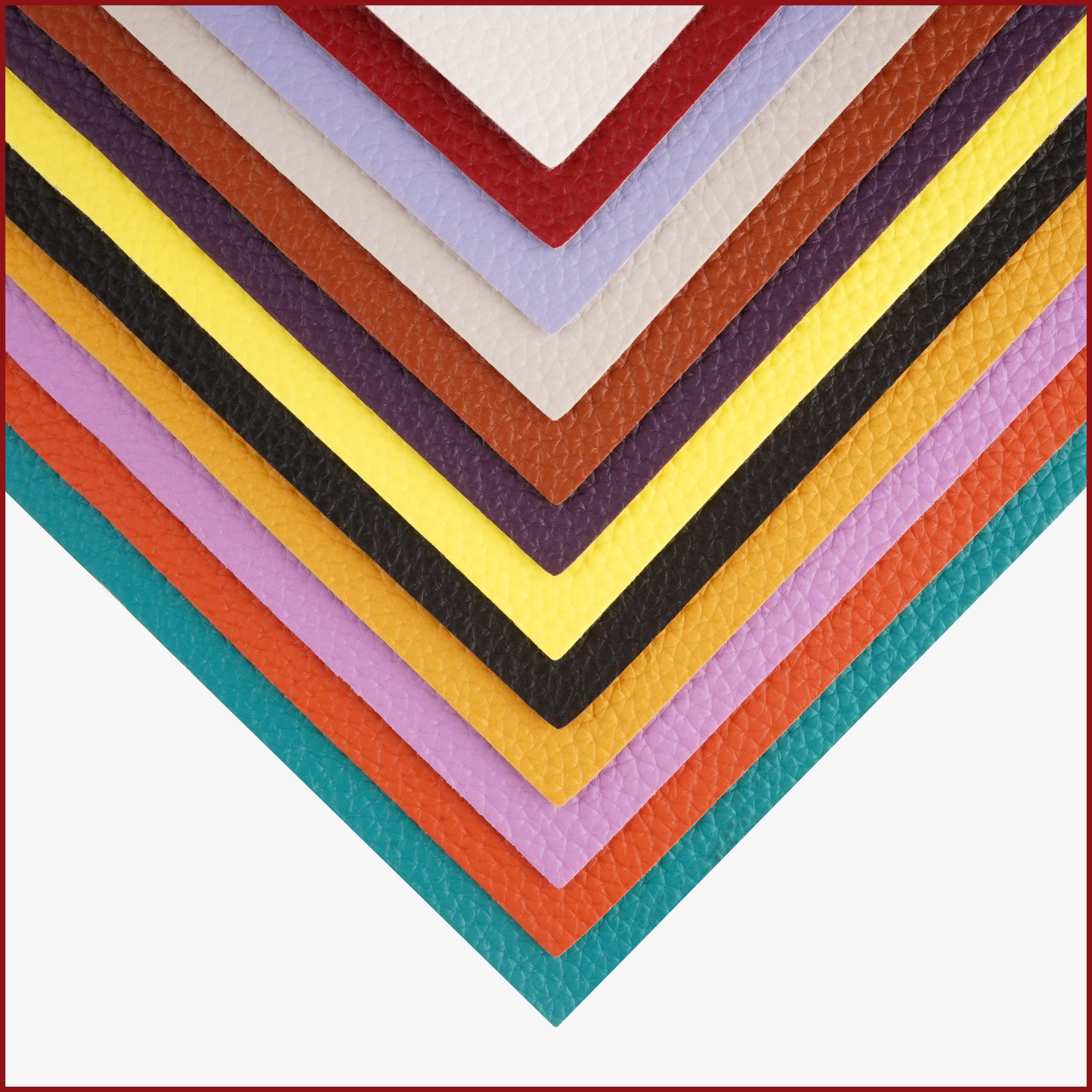 """Accesorios Libra A4 hoja 8 """"x11,8"""" Sythetic big Litchi polipiel PU Tela de cuero para arcos artesanía costura"""