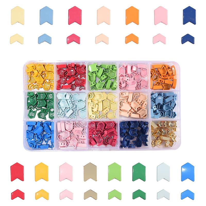 300 unid/caja de azulejos miuki arrow beads para la fabricación de joyas, kit de pulseras, amuletos myuki de colores, 2020 cuentas con orificio, suministros para manualidades diy
