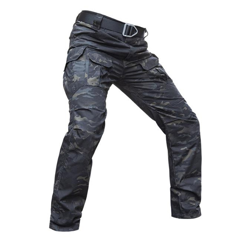 Men's IX8 Jogger Pants Men Waterproof Training Overalls Army Tactical Working Pants Male Multi-pocket Cargo Pants Sweatpants