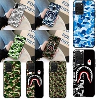 cutewanan camouflage pattern camo military army phone case cover hull for samsung s20 plus ultra s6 s7 edge s8 s9 plus s10 5g