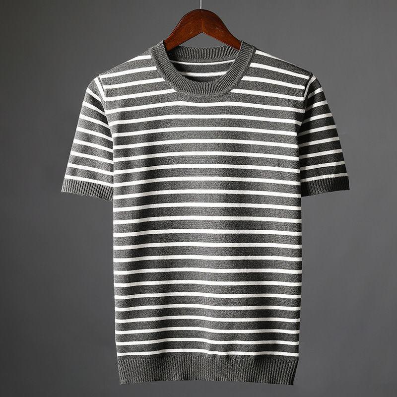 C2952-قميص رجالي قصير الاكمام للتمرين الحراري ملابس كمال الاجسام ملابس رياضية ضيقة مرنة مضغوطة
