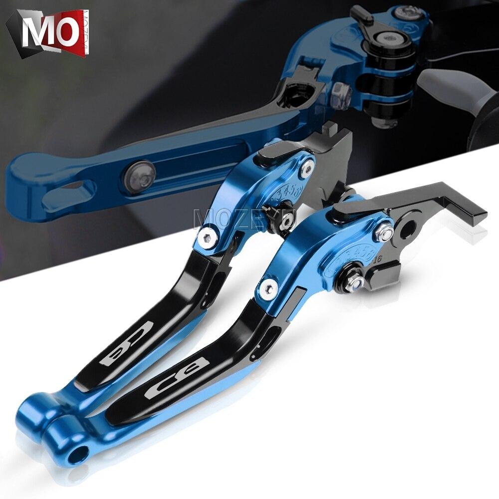 Para Honda CB125F CB1300/ABS/SC38 X4/CB 1300 X4 CB190R accesorios de motocicleta palancas de embrague de freno extensibles plegables ajustables