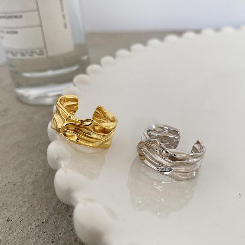 Кольца-из-стерлингового-серебра-925-пробы-со-складной-текстурой-подарок-для-женщин-модный-дизайнерский-женский-геометрический-дизайн-Модн