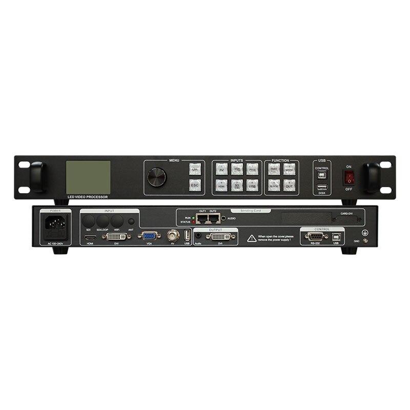 Rental Video Wall LED Video Processor VS900 Scaler HD TV SDI HDMI-compatible VGA DVI USB WIFI Sending Cards 3 in 1 Controller
