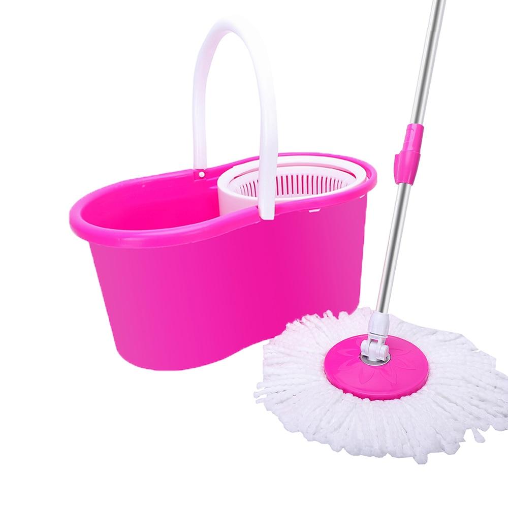 Fácil magic floor mop balde de 360 graus com 2 cabeças de gerencio de microfibra cabeça eua armazém transporte da gota disponível