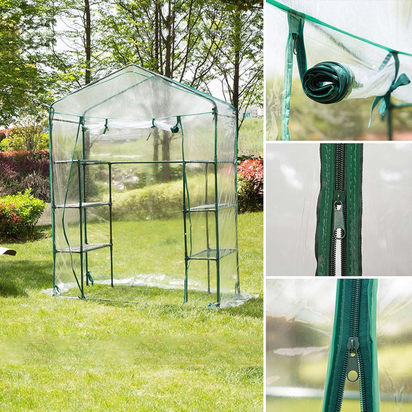 في الهواء الطلق حديقة غطاء نبات الطماطم تنمو البيت الأخضر الدفيئة عززت فقط غطاء الطقس واقية زهرة غرفة غطاء عازل