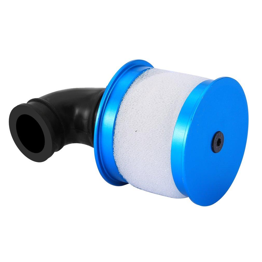 Aluminum Air Filter 1/10 RC Model Nitro Car Spare Parts 081070 For HSP 94122 94166 94177 94188 Car DIY недорого