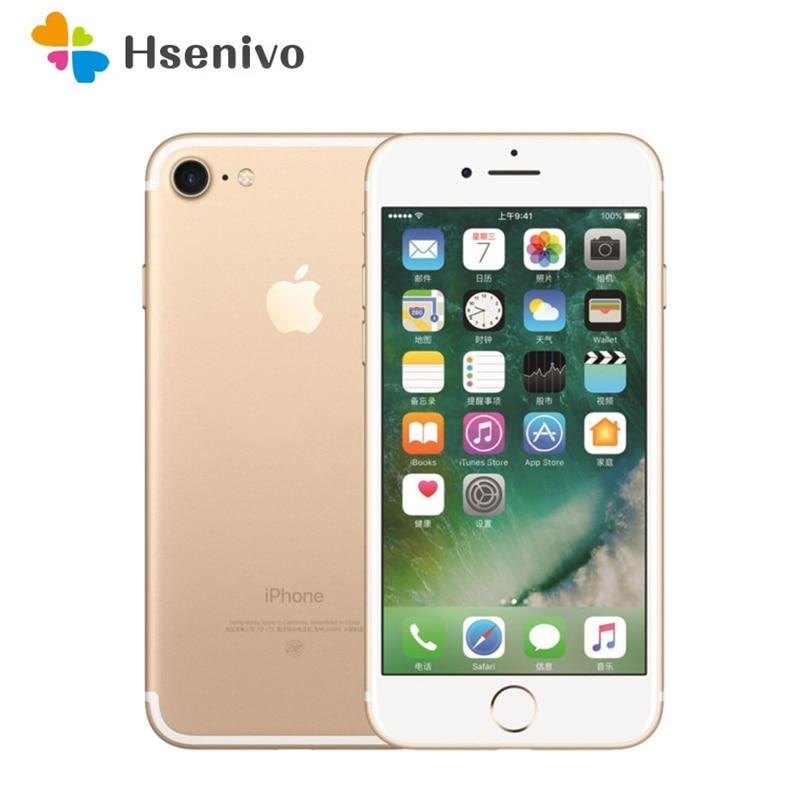 Get Apple iPhone 7 Used (95% New)-Original Unlocked  Dual Core IOS Mobile Phone 4.7″ 32 128 256 GB ROM WIFI GPS 2160p cell phone
