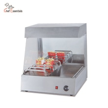 PKJG-VF8 comptoir puces plus chaud Commercial frites plus chaud équipement de restauration rapide puce affichage station