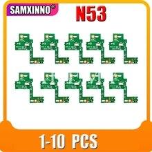 1-3 pièces NOUVEAU POUR ASUS N53SV N53 N53S N53J N53TA N53TK N53SM N53DA N53SL N53SN N53JG N53JN N53JF N53JQ PRISE DALIMENTATION CC PANNEAU de COMMUTATEUR